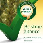 Katalog Strne žitarice 2018